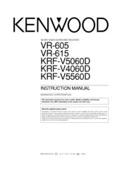 Kenwood VR-615 Manuals