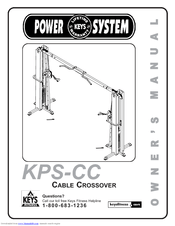 Keys Fitness CABLE CROSSOVER KPS-CC Manuals