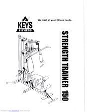 Keys Fitness ST-150 Manuals