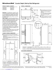 Kitchenaid KSCS25IN Manuals