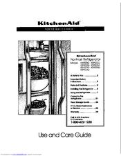 Kitchenaid KSRS22Q Manuals