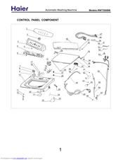 Haier RWT360BW Manuals