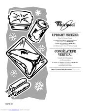 Whirlpool UPRIGHT FREEZER Manuals