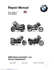 Bmw K100 LT Manuals