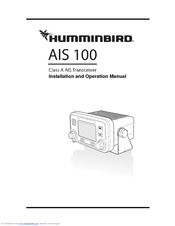 Humminbird Wide 100 Manuals