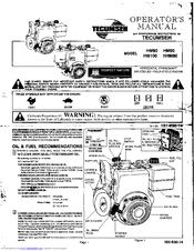 Tecumseh HM90 Manuals