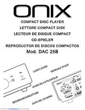 Onix DAC 25B Manuals
