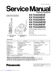 Panasonic KX-TG2220BXB Manuals
