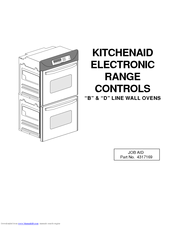 Kitchenaid KGRT507B Manuals