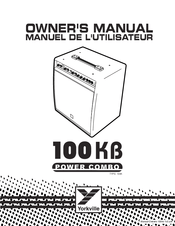 Yorkville 100K Manuals