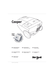 Dirt Devil Cooper Manuals