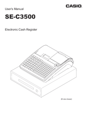 Casio SE-C3500 Manuals