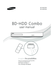 Samsung BD-H8500M Manuals