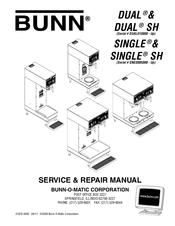 Bunn Single SH Manuals