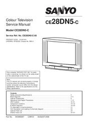 Sanyo CE28DN5-C Manuals