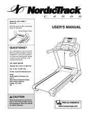 NordicTrack C4000 NETL19807.1 User Manual