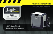 Jandy PRO Series JXI400 Manuals