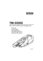 Epson TM-S1000 Manuals