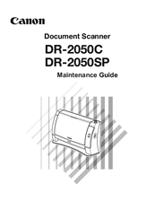 Canon DR-2050SP Manuals