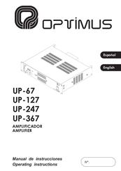 Optimus UP-367 Manuals