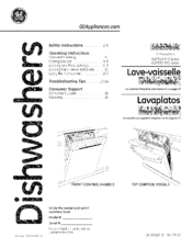 Ge GDT530-550 Series Manuals