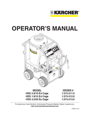Karcher HD 3.5/20 Ea Manuals