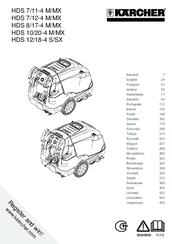Karcher HDS 12/18-4 S/SX Manuals