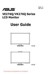 Asus VK276Q Series Manuals