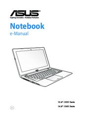 Asus X551 Series Manuals