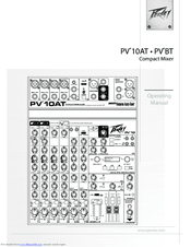 Peavey PV 10AT Manuals