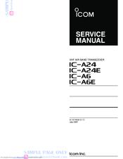 Icom IC-A24E Manuals
