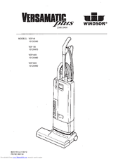 Windsor Versamatic Plus VSP14IA Manuals