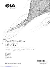 Lg 47LB6000 Manuals