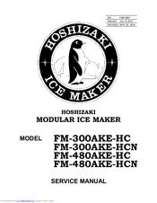 Hoshizaki FM-480AKE-HC Manuals