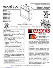Heat & Glo 8000CL-IPI-S Manuals