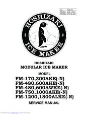 Hoshizaki 300AKE(-N) Manuals