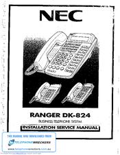 Nec Ranger D-824 Manuals