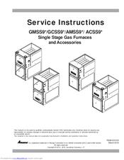 Amana ACSS9 Series Manuals