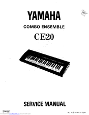 Yamaha CE20 Combo Ensemble Manuals