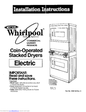 Whirlpool 3390148 Manuals