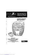 Zenith Z250 Manuals