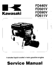 Kawasaki Motorcycle Service Manuals, Kawasaki, Free Engine
