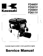 Kawasaki FD590V Manuals