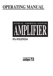 Inter-m PA-9324 Manuals