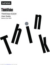 Lenovo THINK VISION E2223 Manuals
