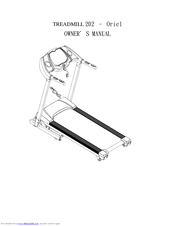 Horizon Fitness 202 Manuals