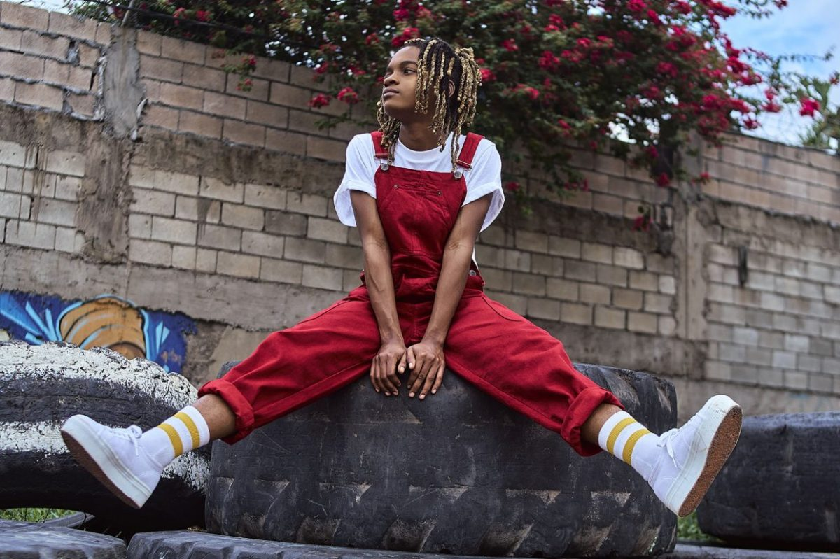 Photo of singer, rapper and guitarist Koffee