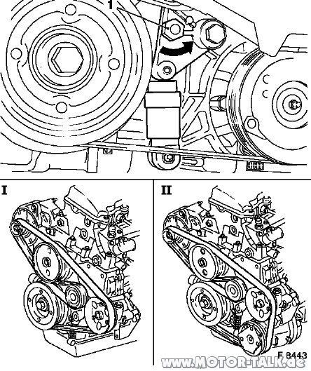 Y22dta : Keilrippenriemen wechsel?! : Opel Vectra C