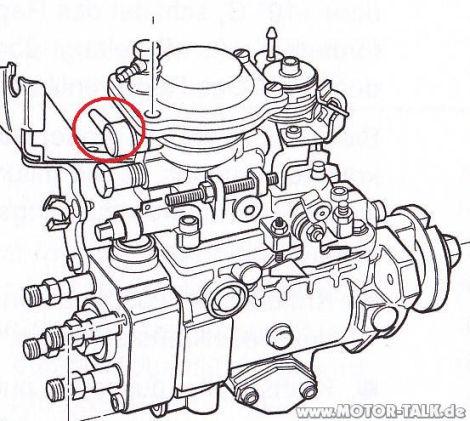 AAZ Motor ESP Undicht : VW Golf 3