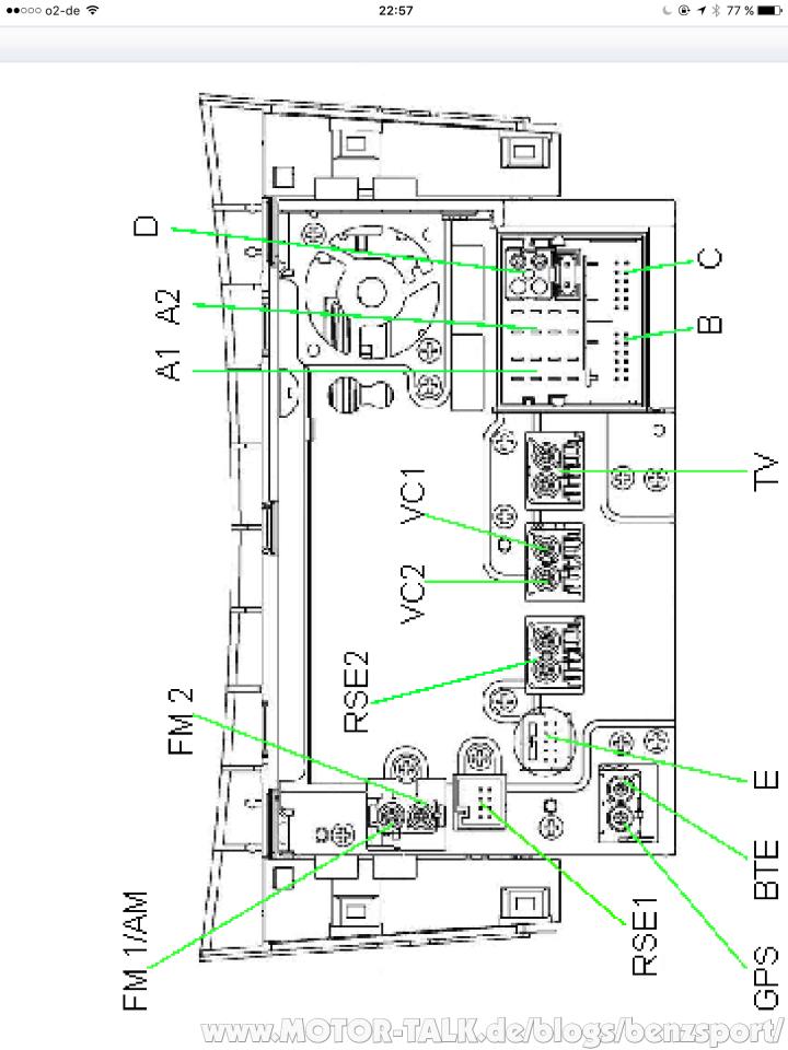 NTG 4 212 : Rückfahrkamera im W212/W204/W207